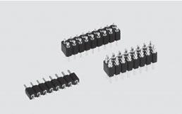 スプリングコネクタ2.54mm